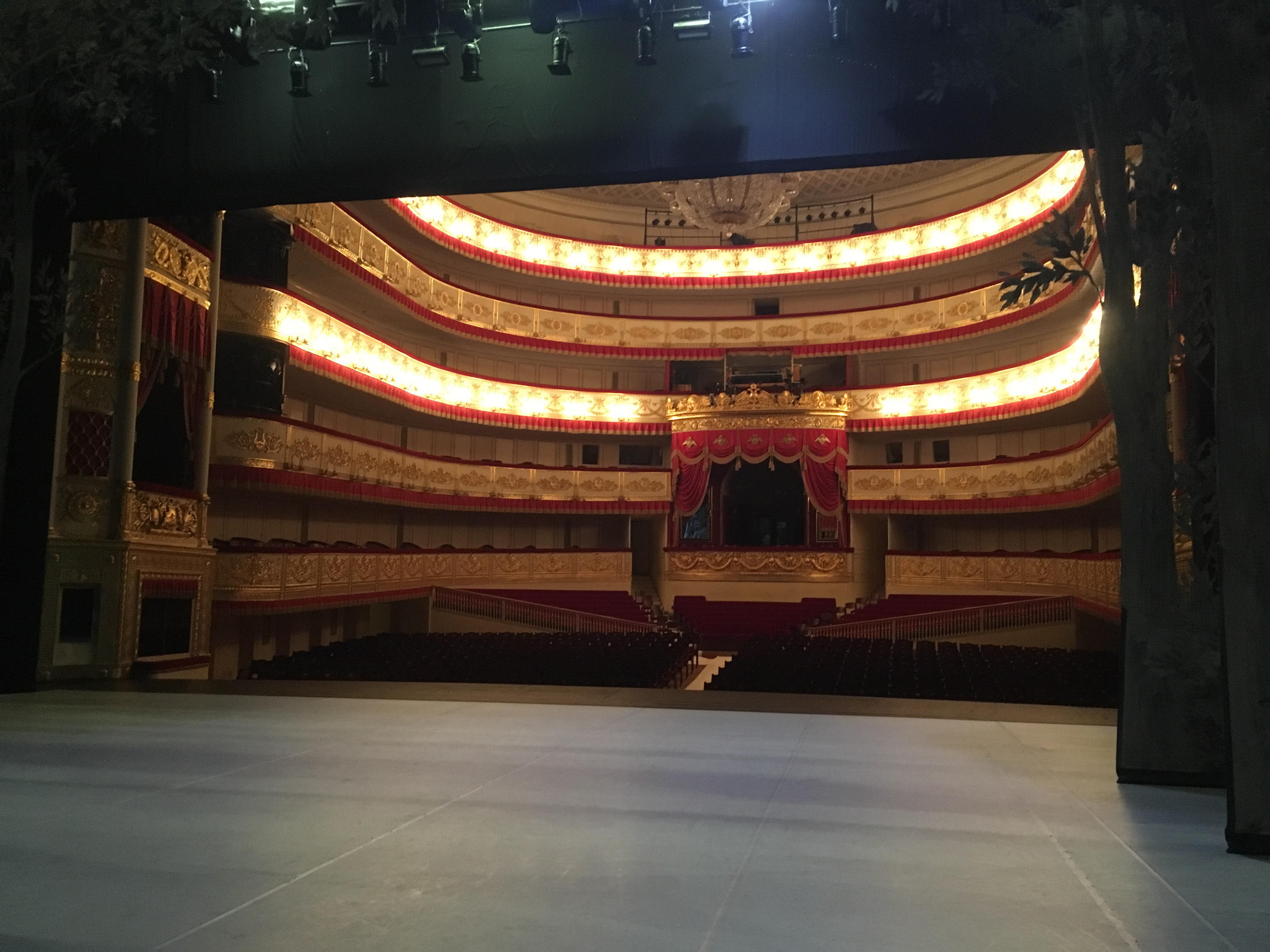 アレクサンドリンスキー劇場の舞台